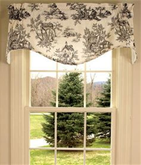 Black And White Toile Kitchen Curtains by 1000 Images About Curtains On Valances Toile