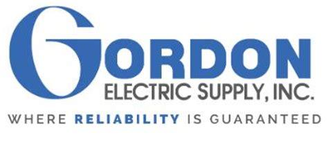 Gordon Electric Supply Locations | gordon electric supply