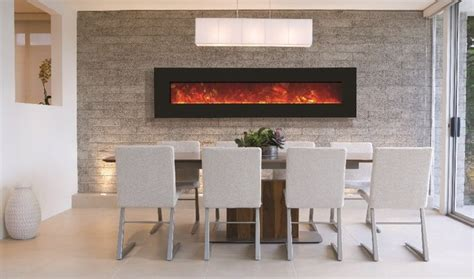 amantii wall mount or built in electric fireplace 76