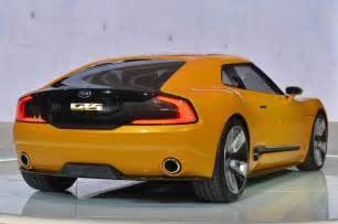 Kia Gt Stinger Kia Gt4 Stinger Concept Detroit 2014 Photo Gallery Autoblog