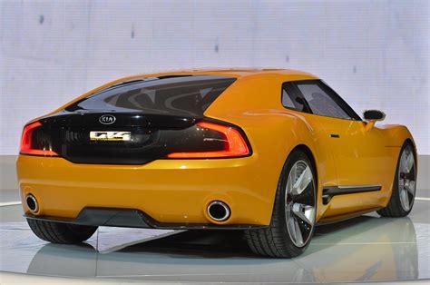 Gt4 Kia Kia Gt4 Stinger Concept Detroit 2014 Photo Gallery Autoblog