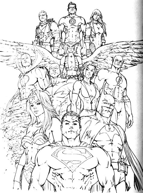 printable coloring pages justice league free justice league coloring pages