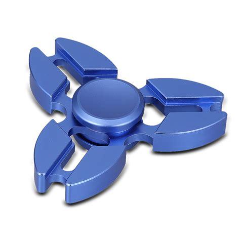 Fidget Spinner Stainless fidget spinner metal stainless steel dual tri