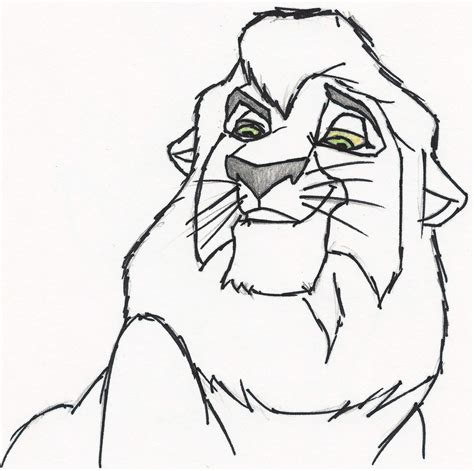 kovu coloring pages coloring pages