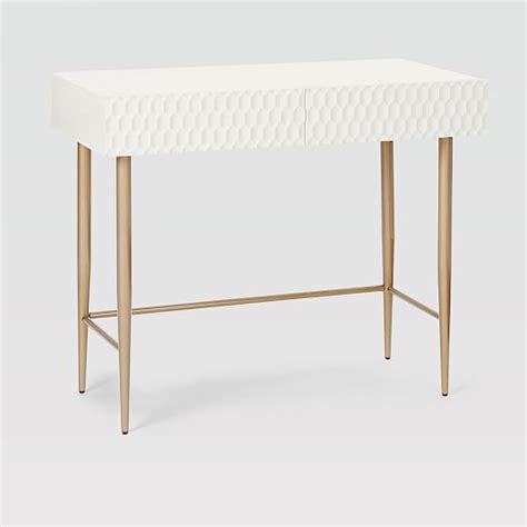 Audrey Mini Desk West Elm West Elm Small Desk