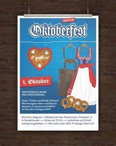 Kostenlose Vorlage Oktoberfest Drucke Selbst Vorlage Einladung Oktoberfest