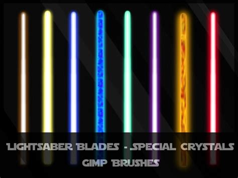 what does each lightsaber color lightsaber blades special by jedania on deviantart