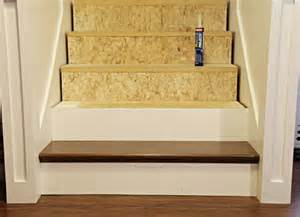 Diy Stair Risers by Iheart Organizing 2012 11 04