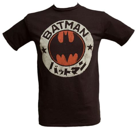 Tshirt Kaos Batman Logo Japan junk food batman japanese logo t shirt from junk food