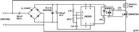 triac light bulb flasher electronics forum circuits