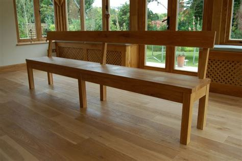 refectory bench andrew page oak