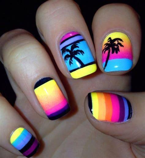 imagenes de uñas verano 1000 ideas sobre u 241 as de verano en pinterest manicura
