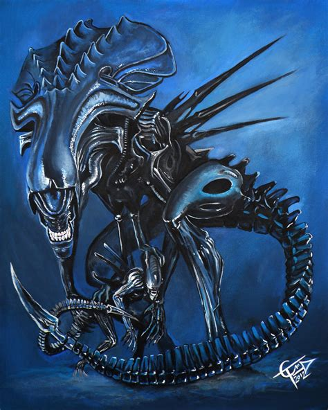alien queen by zombietommm on deviantart