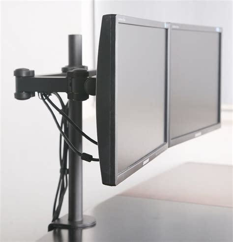 Computer Monitor Desk Stand Digi Parts Dual Monitors Desk Mount Stand Fully Adjustable Upto 27 Quot 80 060 59 99