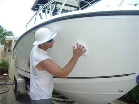boat cleaner polish boat cleaning detailing vancouver boat yard