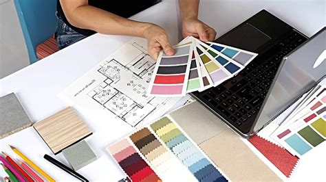 interior designer working stock footage getty images