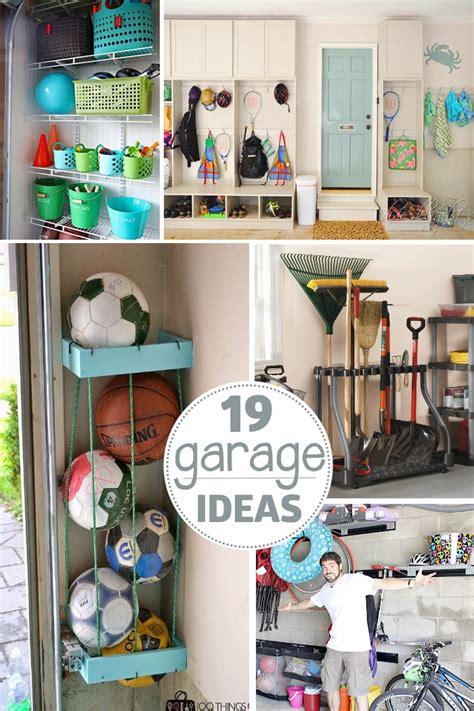 garage organization tips  ways  find  space