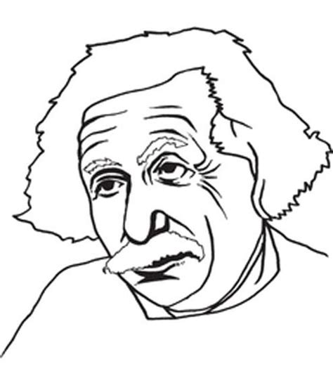 Albert Coloring Pages albert einstein coloring pages bestofcoloring