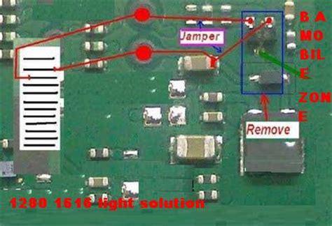 nokia 1280 white display free mobile repair solutions free nokia 1280 1616 light