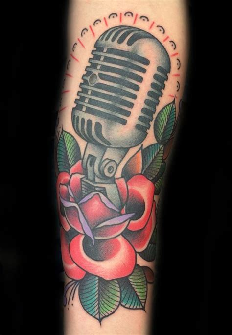 microphone tattoo on foot mais de 25 ideias 250 nicas de mic tattoo no pinterest