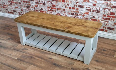 hall benches uk rustic hall bench shoe storage bench made from reclaimed