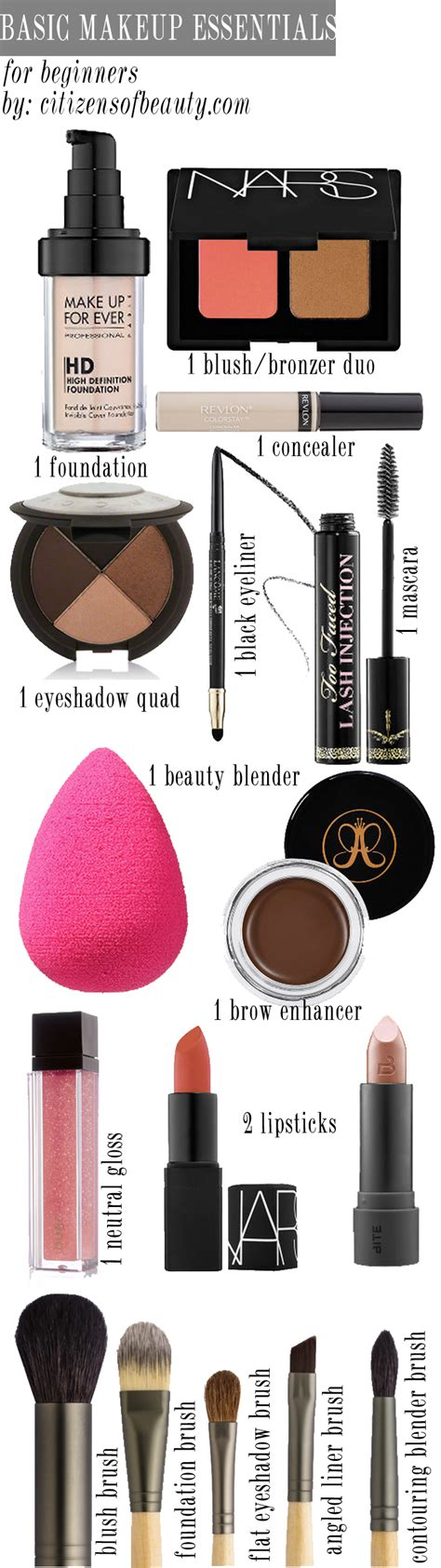Themakeupgirls 99 Products by Basic Makeup Essentials For Beginners Citizens Of