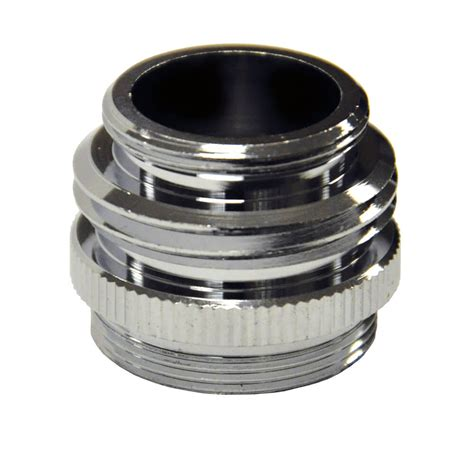 kitchen faucet to garden hose adapter 15 16 in 27m 5 64 in 27f x 3 4 in ghtm or 55 64 in