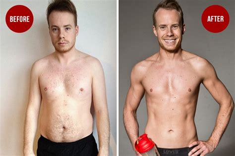 fitness transformation askmen