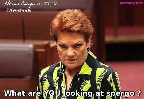 Pauline Hanson Memes - pauline hanson wants special needs kids removed from