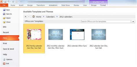 Creating Powerpoint Templates 2010 How To Create A Calendar In Powerpoint 2010 Template How To Create A Template In Powerpoint 2010