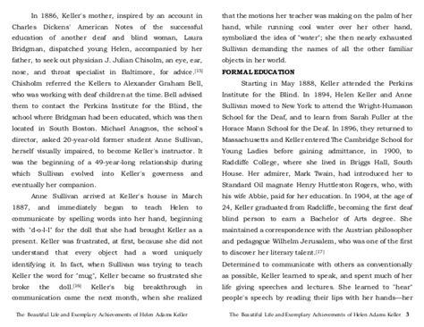 helen keller research paper three days to see by helen keller essay eassyforex x fc2