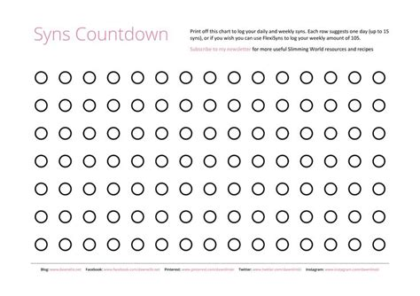 countdown chart template printable countdown chart search engine at search