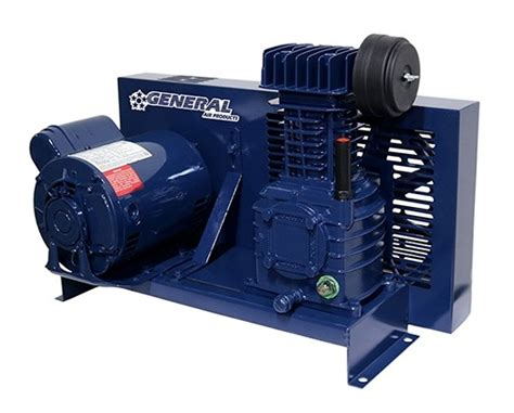 l425100b lubricated base mounted air compressor general air products