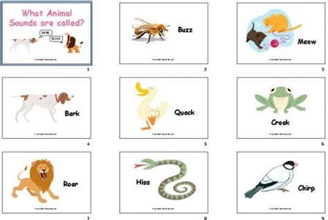 diy flashcards  animal sounds