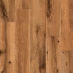 Oak Plank Flooring Shop Allen Roth 4 96 In W X 4 23 Ft L Lodge Oak Handscraped Wood Plank Laminate Flooring At