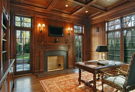 luxury home office winnetka luxury custom home traditional home office