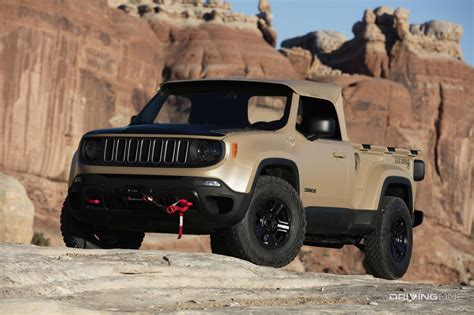 new jeep comanche 2016 jeep comanche concept video drivingline