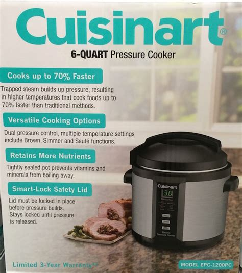 cuisinart pressure cooker cookbook easy delicious electric pressure cooker recipes for your cuisinart pressure cooker books my costco gift guide 2014 omg lifestyle