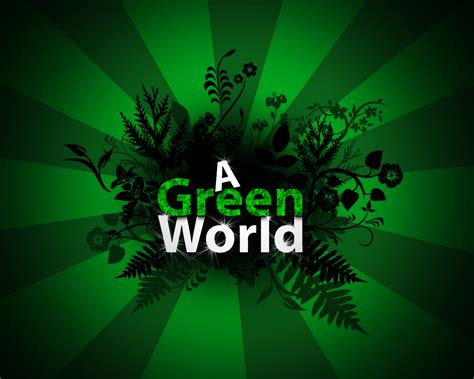 wallpaper green world green world wallpaper by nickotyn on deviantart