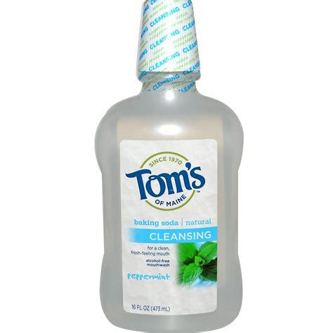 Best Detox Mouthwash by Tom S Of Maine Free Baking Soda Mouthwash