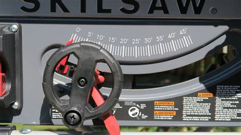 skilsaw 10 table saw skilsaw table saw review the tool reporter