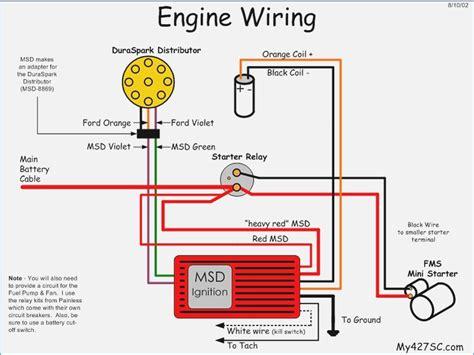 chevy starter wires wiring diagram