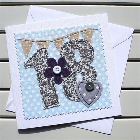 Handmade 18th Birthday Cards - 17 best ideas about 18th birthday cards on
