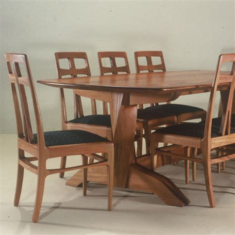 Handmade Dining Room Furniture - handcrafted dining room table and chairs artisans of the