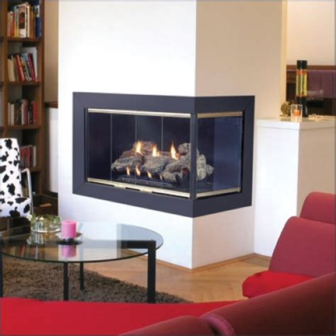corner fireplace for your small apartment home interior