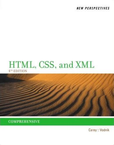 perspectives  html css  xml comprehensive