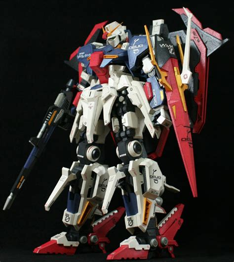 Paper Craft Gundam - detailed msz 006 hyper zeta gundam papercraft free