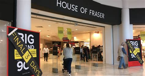 house closing house of fraser closing date revealed here s what you can still get in the sale leicester