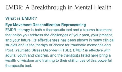 eye movement desensitization and reprocessing emdr therapy third edition basic principles protocols and procedures books emdr therapy e m d r eye movement desensitization and
