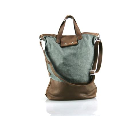Canvas Carryall canvas and leather carryall carry me